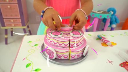 妹妹有一个大蛋糕