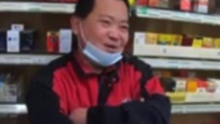 近日,BBC记者在街采,报道新冠疫情后的中国。市民笑答说反正比你们强