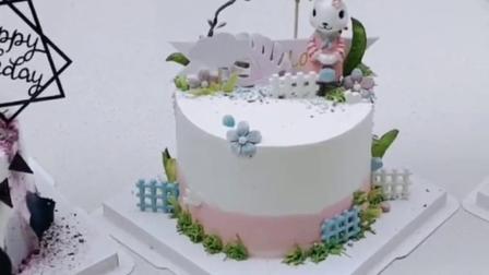 ins简约风蛋糕之为你专做的蛋糕款式