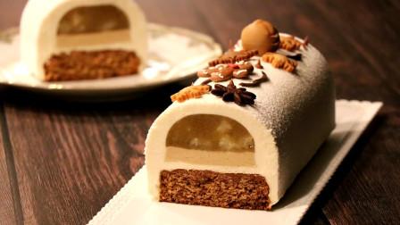 超市都买不到的梨子泥奶油蛋糕!在家就能做