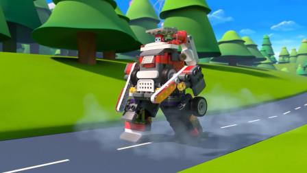 前方高能!布鲁可机器人变身机甲战士
