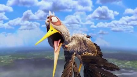 逗鸟外传:最后子鹳鸟飞了回来,真的被感到了