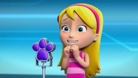 汪汪队:马上要唱歌的凯迪,真的超紧张,咋都唱不好!