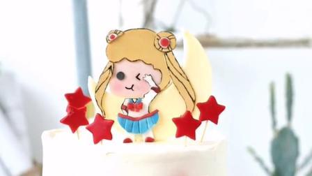 不怕化的糖牌,可以和淡奶油接触的糖牌蛋糕