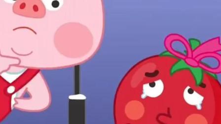 西红柿很美丽的故事