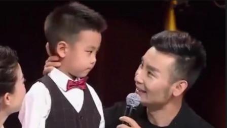 刘和刚生活有多幸福?妻子带儿子惊喜亮相,儿子一番话感动全场