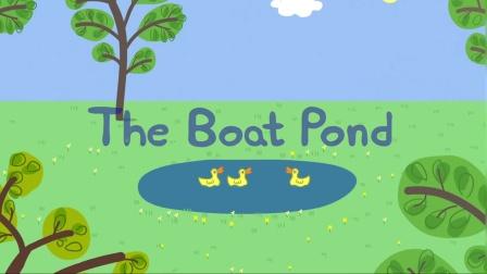 佩奇:看到佩奇一家来到池塘,鸭太太还想吃面包,可这次他们没带