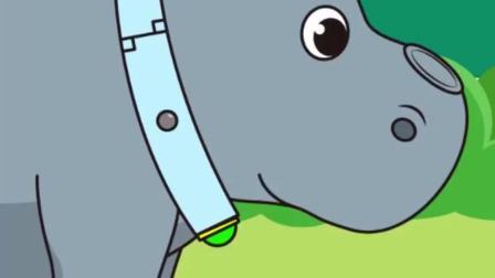 老原小始:小象终于恢复了,犀牛妈妈带着他找象群