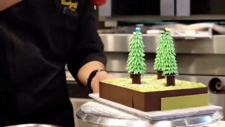 圣诞蛋糕太漂亮了,大师做的美极了