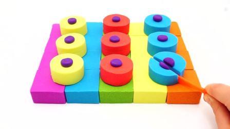 彩色橡皮泥蛋糕点心玩具
