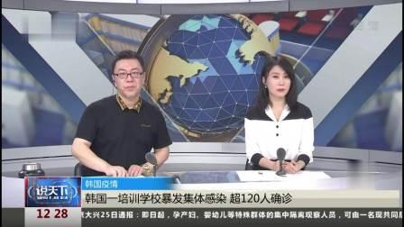 说天下 2021 韩国一培训学校暴发集体感染 超120人确诊