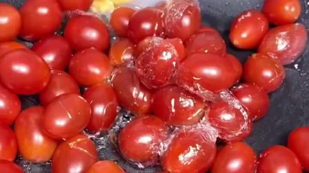 原来这个糖霜小番茄这么好吃,怪不得它会这么贵!