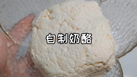 自制奶酪,只需两种材料,简单方便,搭配面包最赞了