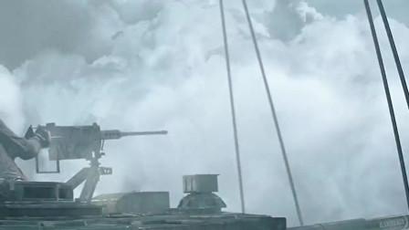 坦克开出了新高度,第一次见在天上开坦克,万米高空对战无人机