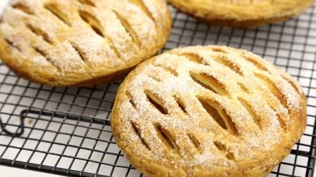 镂空苹果馅饼:酥松又水嫩,美味难久留