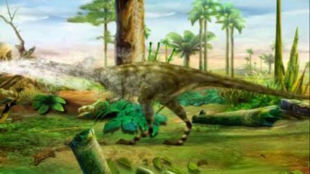 蓝猫淘气3000问之恐龙时代 第一次交锋