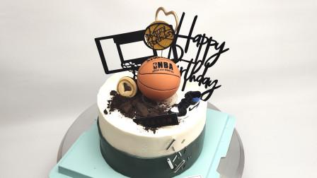 球友们,约球啦!篮球场关了,没地方打篮球?买个篮球蛋糕,来点小酒,酒桌上谈篮球吧!适合送给热爱篮球的人们!