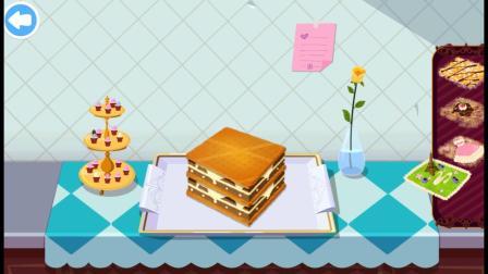 法国餐厅小游戏,做出美味的蛋糕吧!
