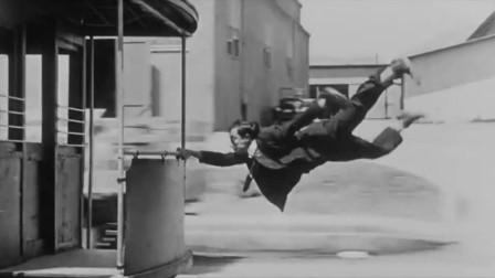 成龙的偶像——巴斯特基顿:周星驰、诺兰都曾在电影中对他致敬!
