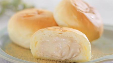 正宗老式面包做法,学会这个诀窍,面包才柔软蓬松,1次就成功
