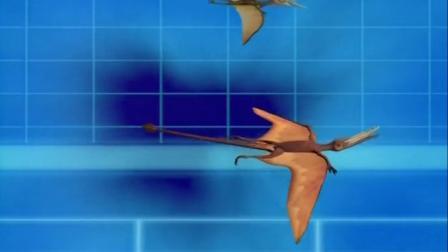 蓝猫淘气3000问之恐龙时代 三叠纪翼龙