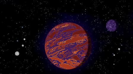 《飞出个未来》弗莱被遗忘在未知星球上,成了外星人的宠物