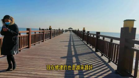 北戴河新区蔚蓝海岸,靠海新起点,高楼耸起,看看周边的环境吧!