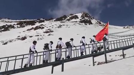 充电加热马甲亮相海拔4000米高原 边防战士踏雪巡逻身暖心更暖!