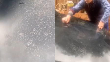 父亲用钢丝球帮儿子洗车致车漆损坏,儿子:怕他心痛没告诉他