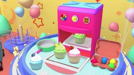 媛媛颜色世界 有趣的机器 能制作很多淇淋