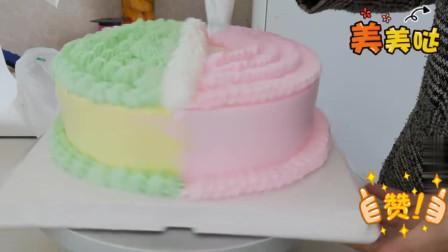 超级可爱的一款,网红KT猫生日蛋糕,粉粉的小女孩超爱!