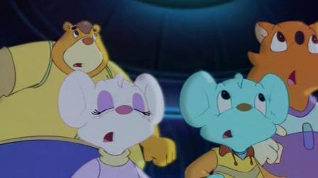 《蓝猫淘气太空历险记》蓝猫平安无恙,众人欢呼雀跃!