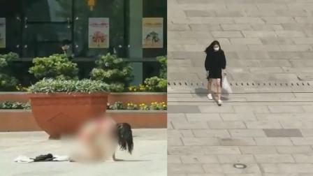 广州一女子只穿内衣在城隍庙前跪拜,片刻后穿上衣服离开,目击者们的讨论亮了!