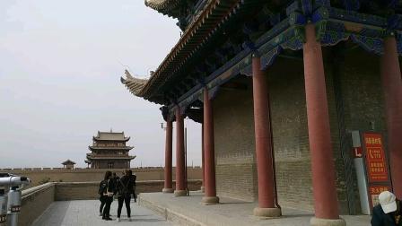 古老的嘉峪关关城,万里长城的起点,丝绸之路的第一关