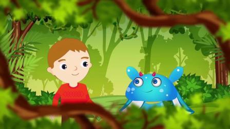 讲给孩子的寓言故事 金斧头与银斧头 解析版(英文)