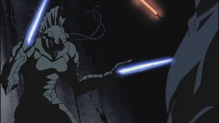 强殖装甲:男主经过激烈打斗,终于在危急关头救出了父亲
