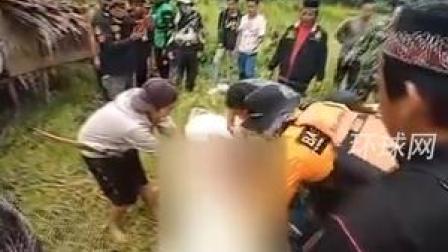 印尼8岁儿童被鳄鱼吞下,民众后当场剖出孩子