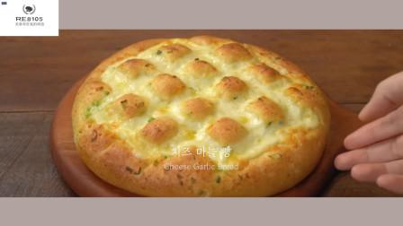好吃做法又简单的蒜蓉芝士面包