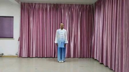 2021江苏省健身气功网络比赛无锡市新吴区江溪街道万一社区吴伟东