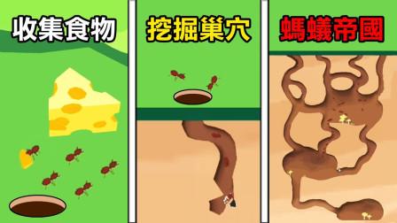 【蚂蚁帝国】从收集食物开始 慢慢扩张我们的蚂蚁帝国  Sand Ant Farm