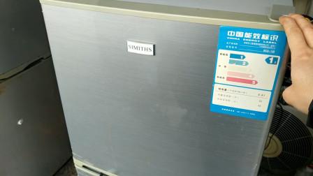 花20收的坏冰箱修好立马就卖了300,带你了解下二手家电市场