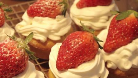 杯子蛋糕小巧又可爱,又能满足口欲,还能控制糖份