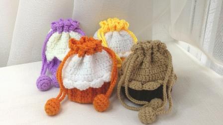 毛线针织DIY奶油蛋糕包材料包编织钩织编织