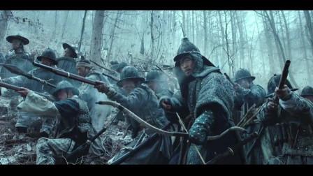 不得不承认韩国战争片电影的制作水准,满清铁骑战斗力强悍