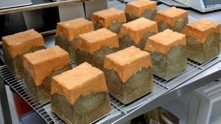 街头美食 吐司面包