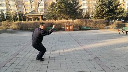 齐齐哈尔市张立群形意拳