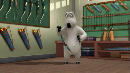 倒霉熊:弓箭的弹性太强了,贝肯熊连安装拉线的力气都没有