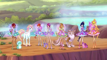 魔法俏佳人 第七季 火龙遇到危险,仙子和神奇动物们合力打败敌人