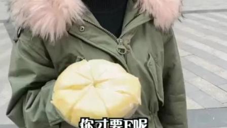 榴莲千层 这么好吃的榴莲千层蛋糕,真的没有人吗