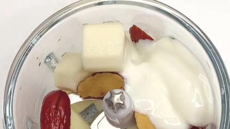 山药红枣酸奶蒸糕,松软可口,健脾胃